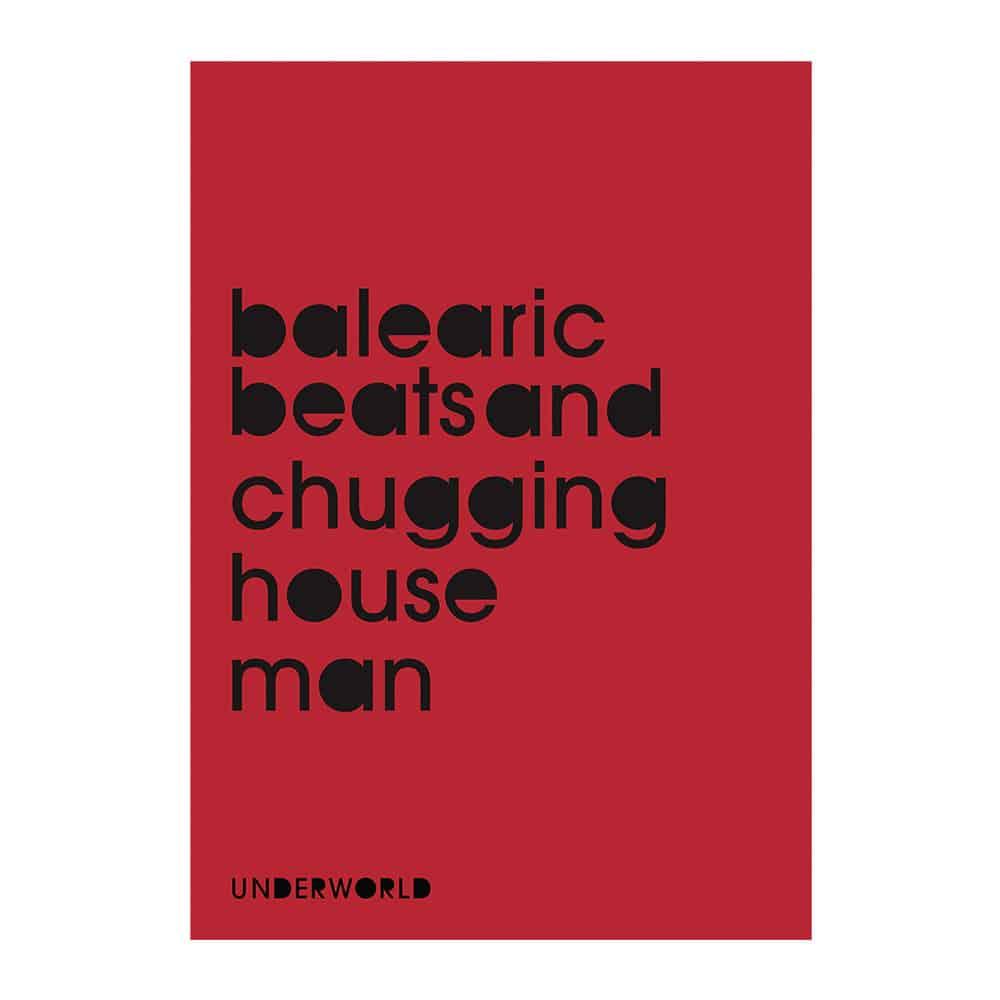 Buy Online Underworld - Balearicbeats Litho Print