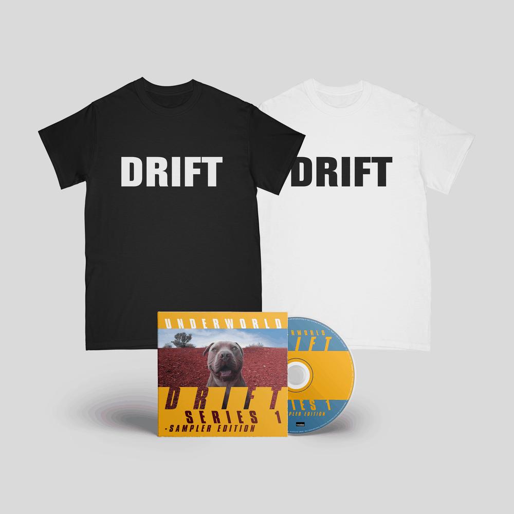 Buy Online Underworld - DRIFT SERIES 1 Sampler Edition CD + T-Shirt