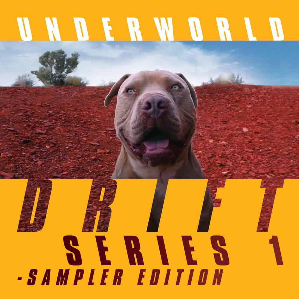 Buy Online Underworld - Drift Songs CD (Signed) + Double Coloured Vinyl