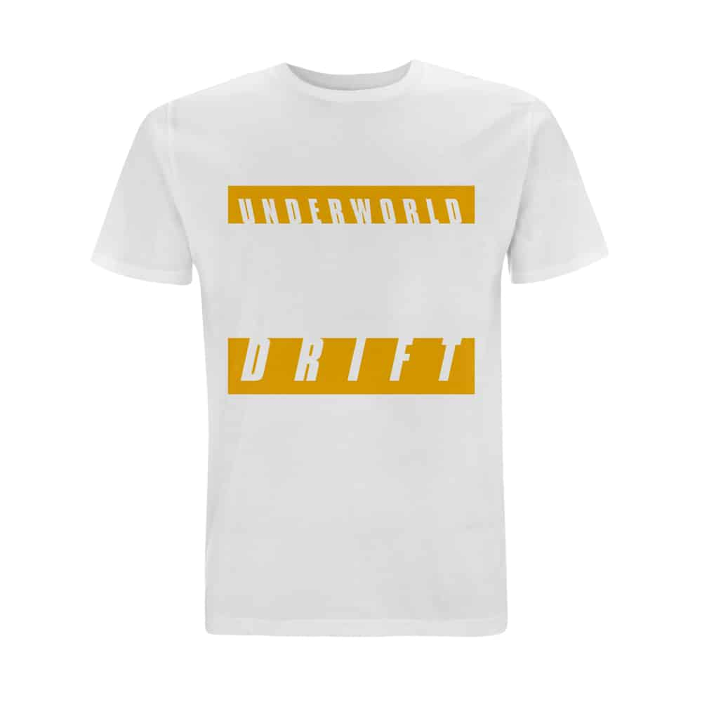 Buy Online Underworld - DRIFT Yellow T-Shirt