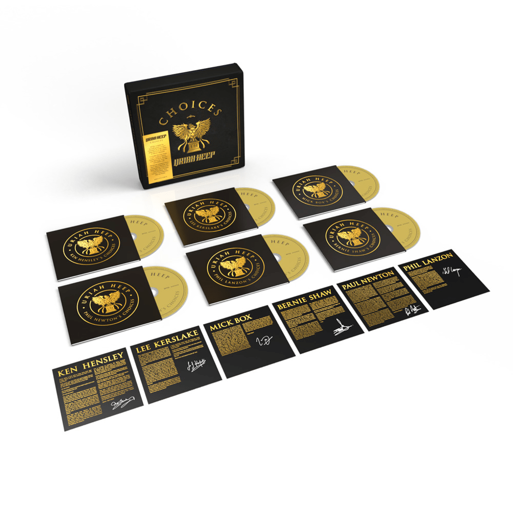 Buy Online URIAH HEEP - Choices 6CD (+ 6 Artcards)
