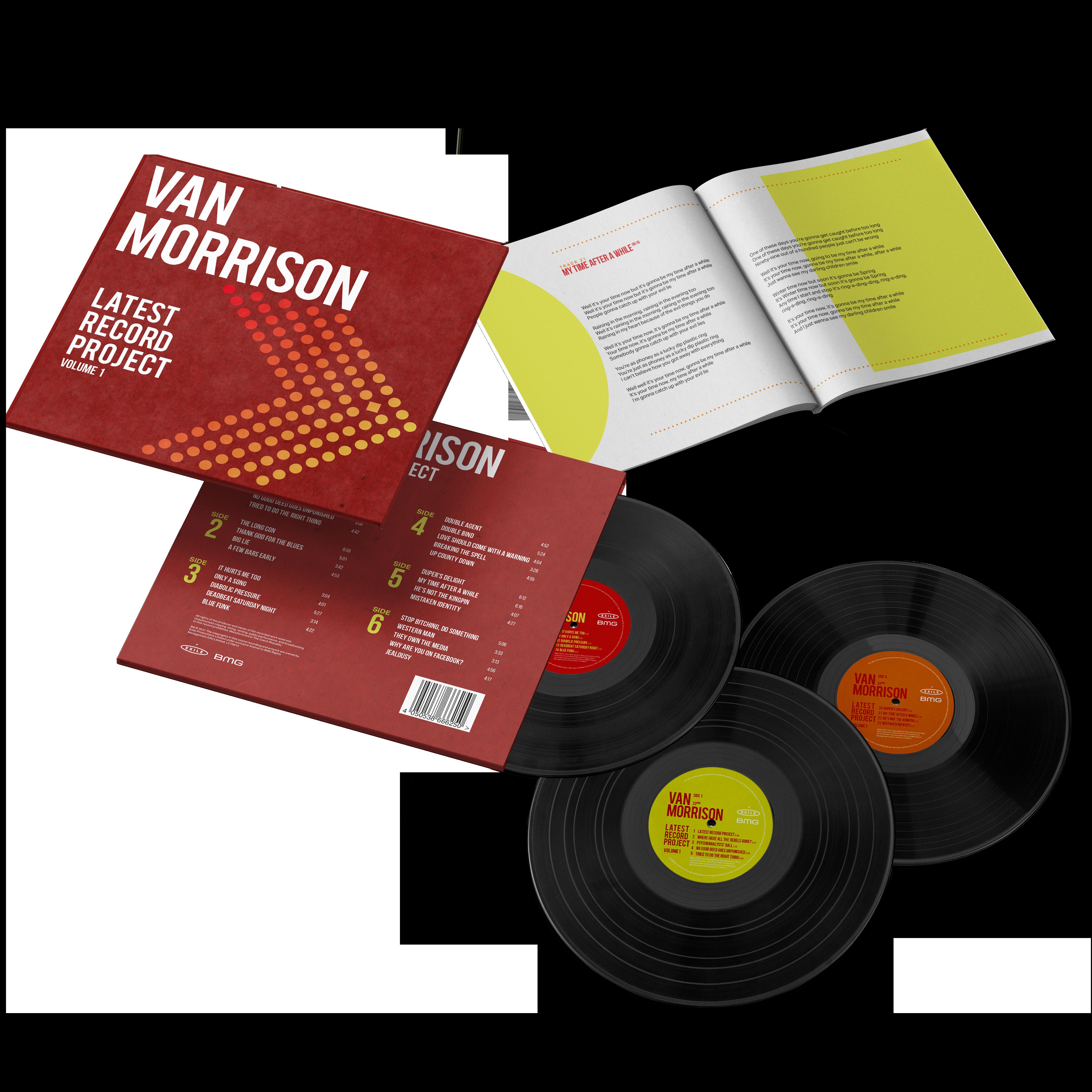 Buy Online Van Morrison - Latest Record Project Volume 1 Standard 3LP