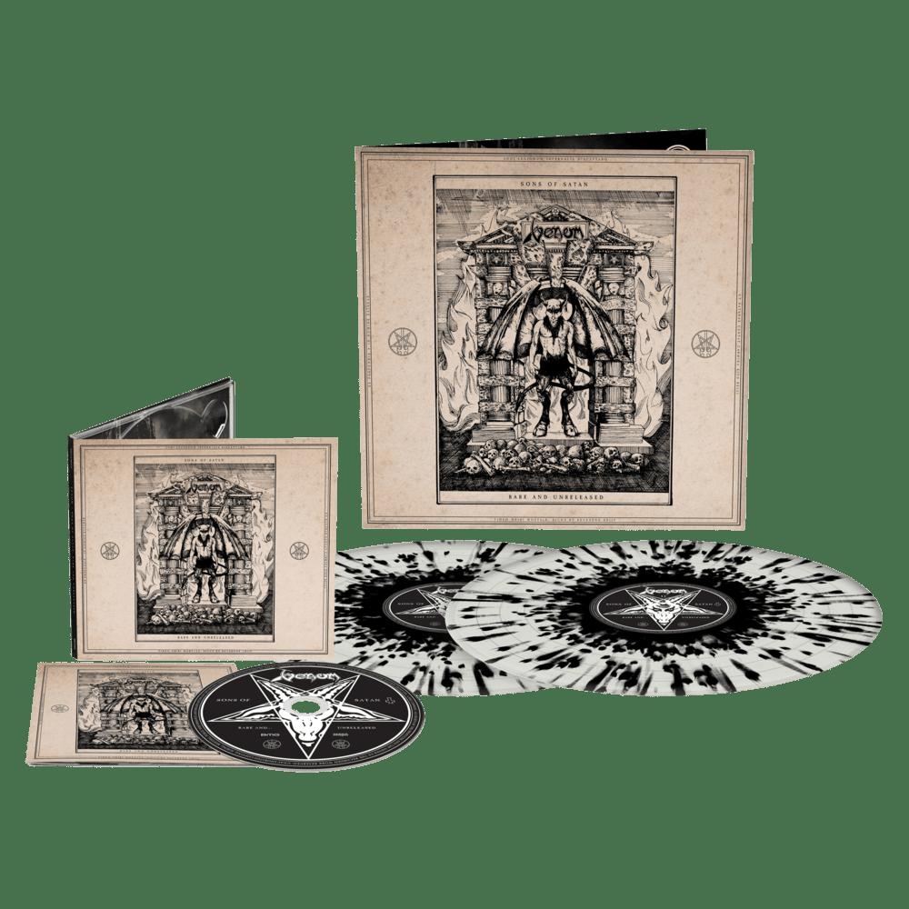 Buy Online Venom - Sons Of Satan Double Splatter Gatefold Vinyl  + CD Album