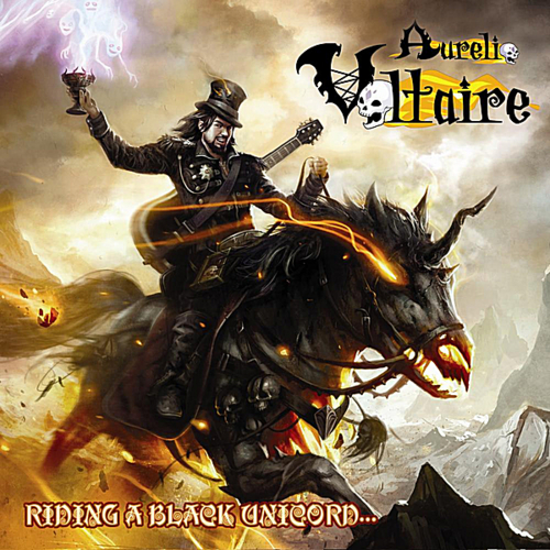 Buy Online Aurelio Voltaire - Riding A Black Unicorn... CD Album