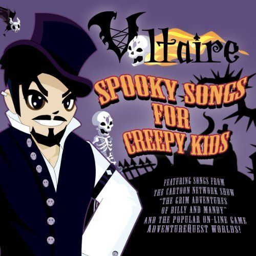 Buy Online Voltaire - Spooky Songs For Creepy Kids CD Album