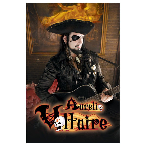 Buy Online Voltaire - Aurelio Voltaire Pirate Poster