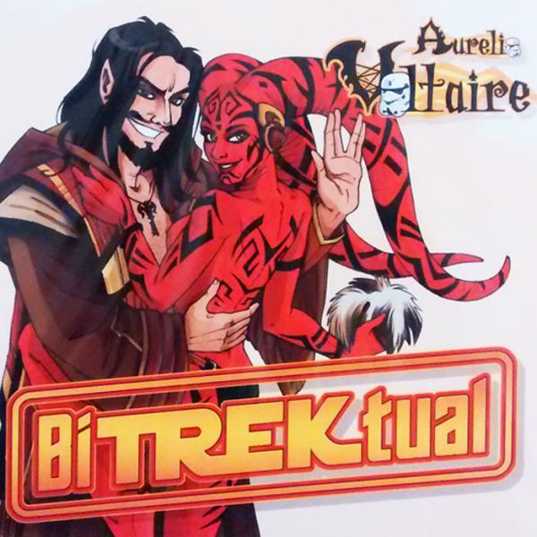 Buy Online Aurelio Voltaire - BiTrekual CD Album (Signed, Alternate Cover)