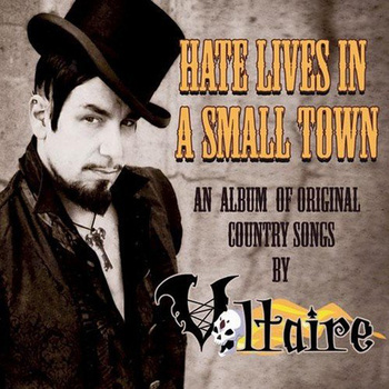 Buy Online Aurelio Voltaire - Hate Lives In A Small Town CD Album (Signed)