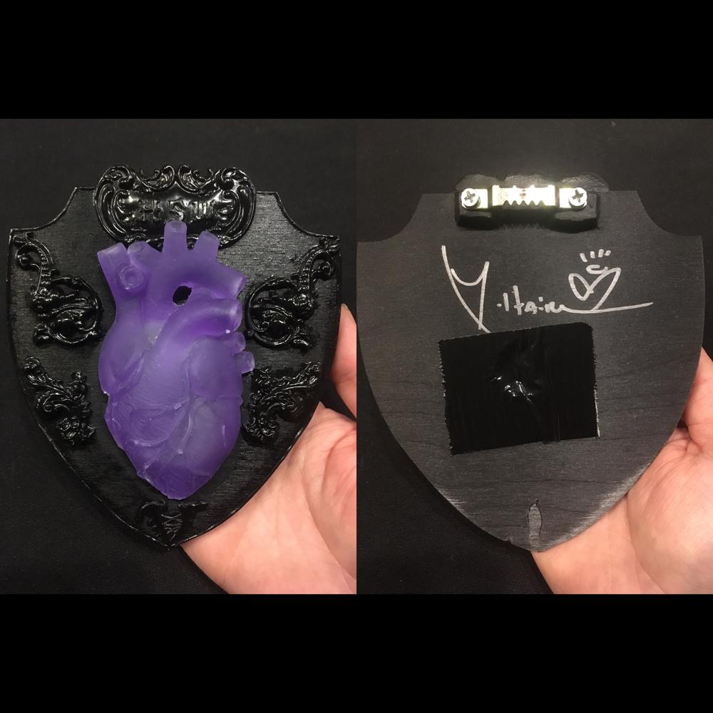 Buy Online Aurelio Voltaire - Heart Shaped Wound Wall Plaque
