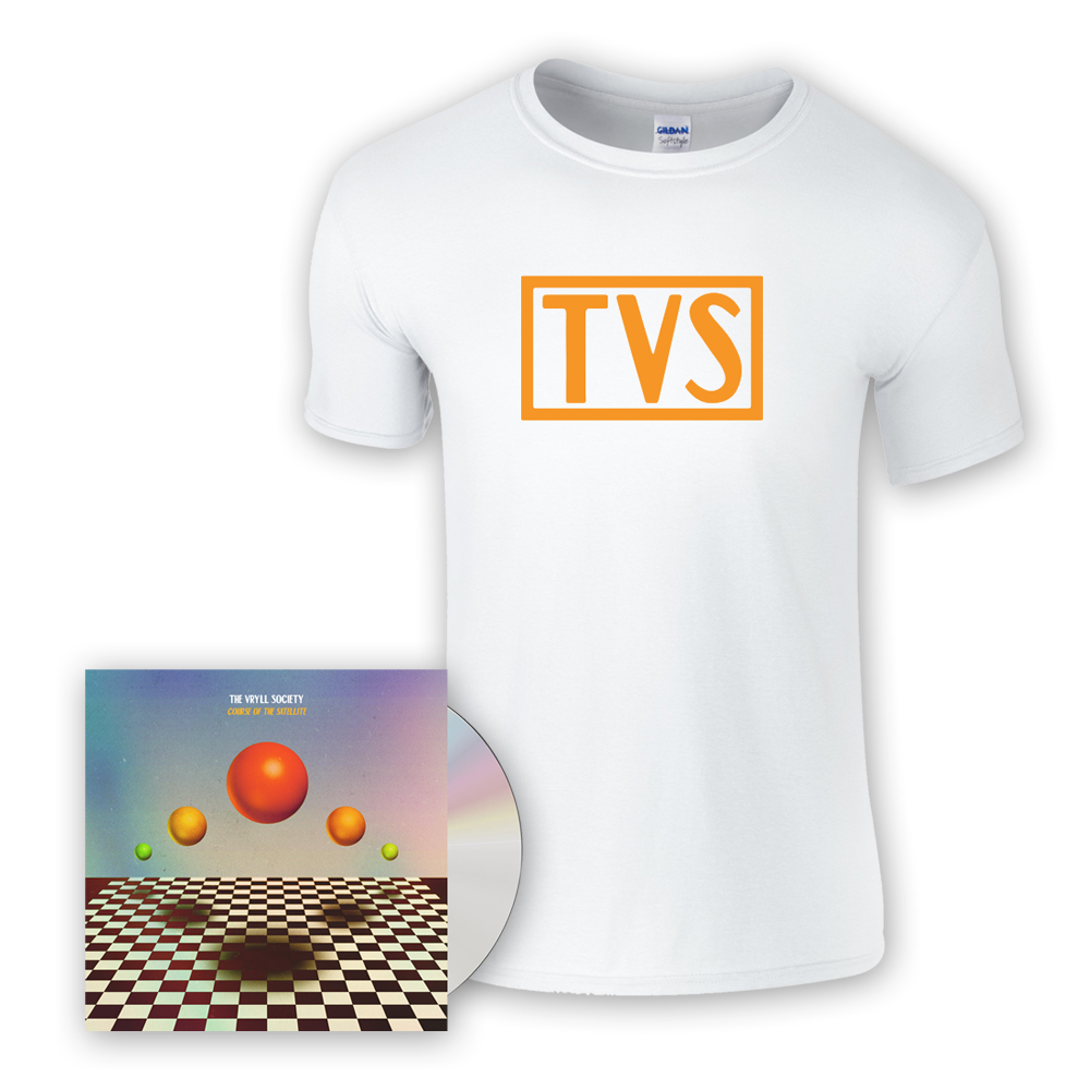 Buy Online The Vryll Society - Course Of The Satellite CD (Signed) + T-Shirt + Bonus CD
