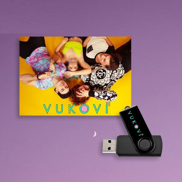 Buy Online Vukovi - Vukovi USB Album + Poster