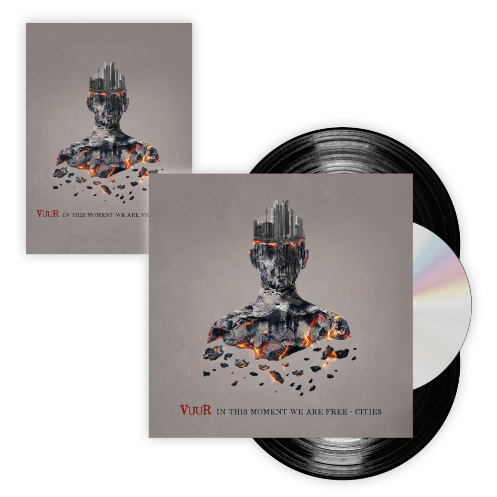 Buy Online VUUR - In This Moment We Are Free - Cities 2LP Vinyl (w/ CD Insert) + Signed Postcard