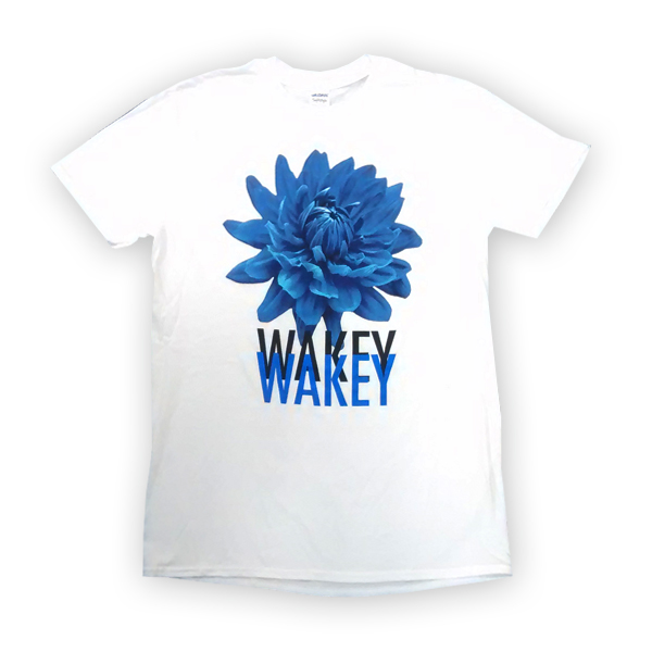 Buy Online Wakey Wakey - White Homeless Poets T-Shirt