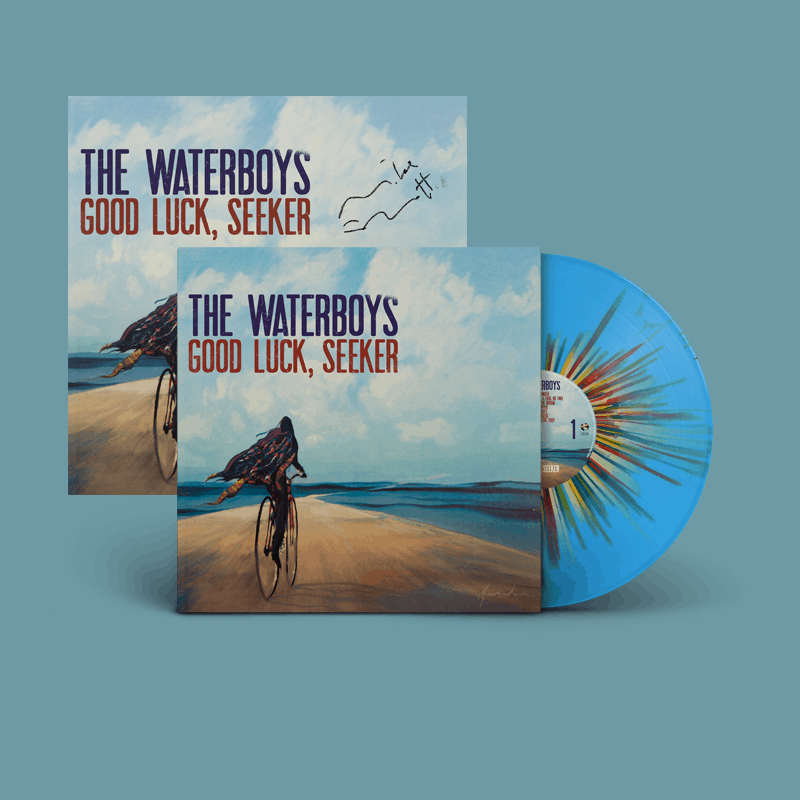 Buy Online The Waterboys - Good Luck, Seeker Splatter + 12