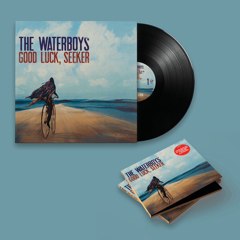 Buy Online The Waterboys - Good Luck, Seeker Standard Vinyl + Deluxe CD + A4 Lyric Sheet (Signed)