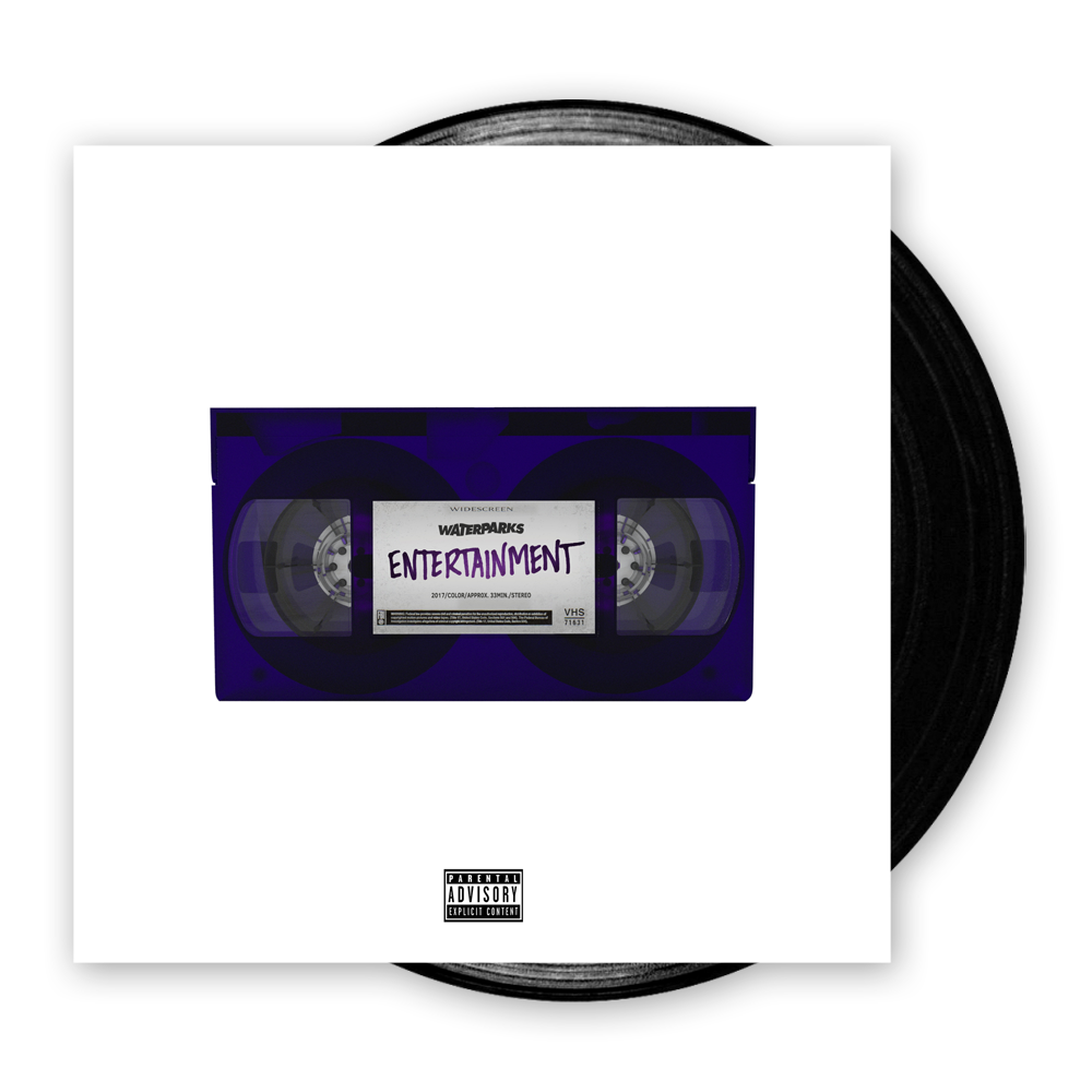 Buy Online Waterparks - Entertainment Vinyl LP (Black)