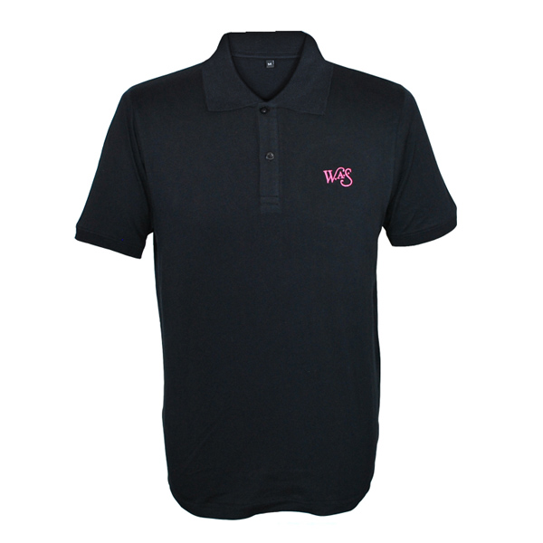Buy Online We Are Scientists - Logo Black Polo Shirt