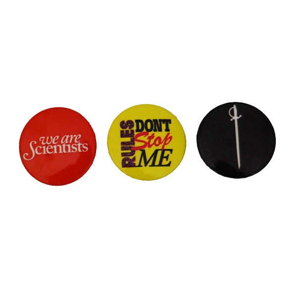 Buy Online We Are Scientists - Rules Badge Pack (Set Of Three)