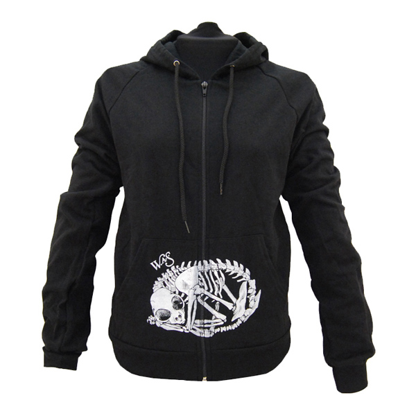 Buy Online We Are Scientists - Cat Skeleton Mens Black Hoody