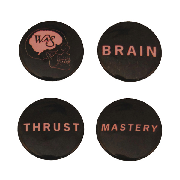 Buy Online We Are Scientists - Brain Thrust Badge Pack (Set Of Four)