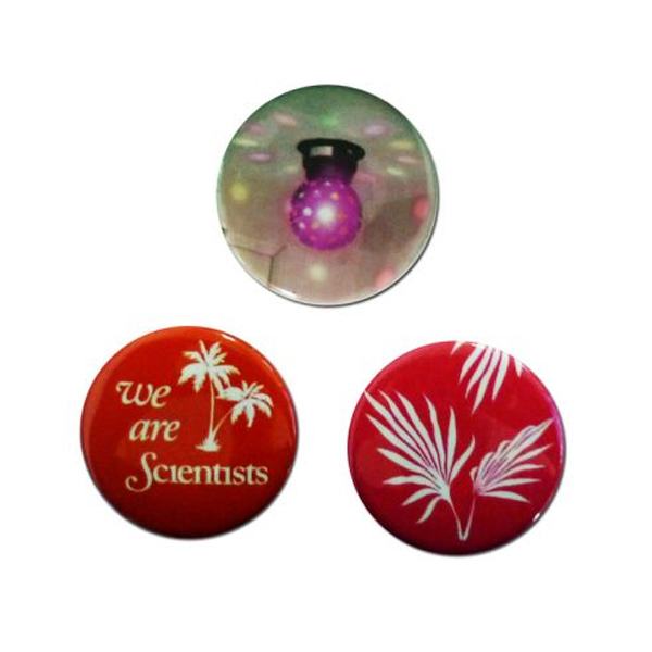 Buy Online We Are Scientists - Disco Badge Pack (Set Of Three)