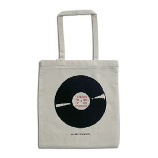 Buy Online We Are Scientists - Record Tote Bag