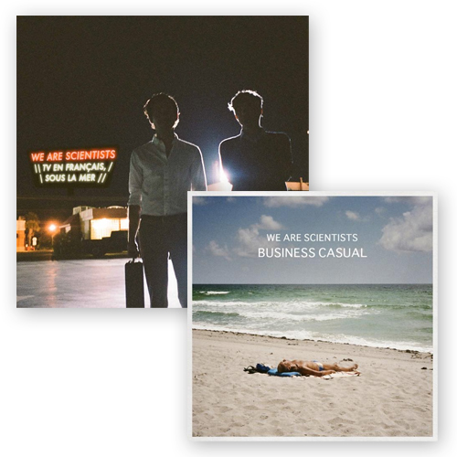 Buy Online We Are Scientists - TV En Francais, Sous La Mer 12-Inch + Business Casual 10-Inch Vinyl