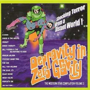 Buy Online Various Artists - Depravity In Zero Gravity