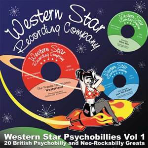 Buy Online Various Artists - Western Star Psychobillies Vol. 1 CD Album