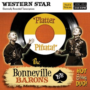 Buy Online The Bonneville Barons - Platter Pinata CD Album