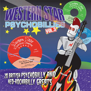 Buy Online Various Artists - Western Star Psychobillies Vol. 3
