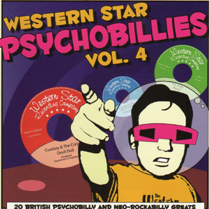 Buy Online Various Artists - Western Star Psychobillies Vol. 4 CD Album