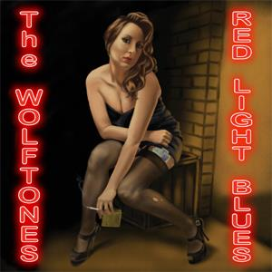 Buy Online The Wolftones - Red Light Blues CD Album