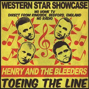 Buy Online Henry & The Bleeders - Toeing The Line 7-Inch Vinyl EP