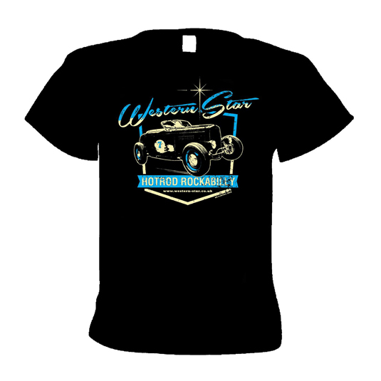 Buy Online Western Star - Hot Rod Rockabilly T-Shirt