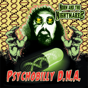Buy Online Norm & The Nightmarez - Psychobilly DNA CD Album