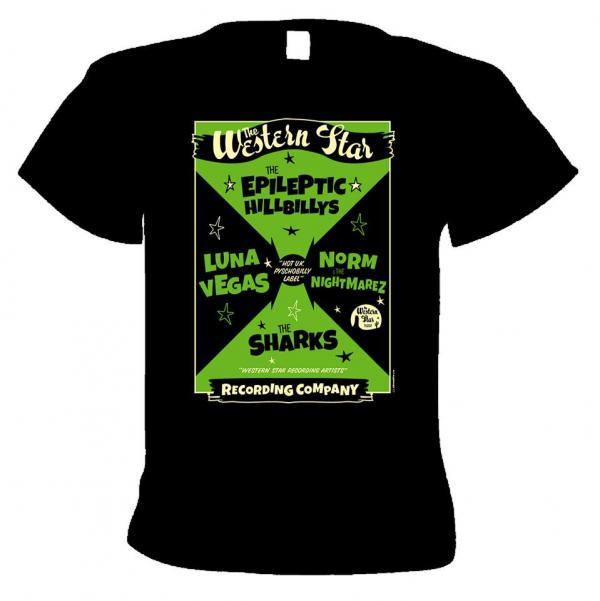 Buy Online Western Star - Winter Dance T-Shirt (Psychobilly)
