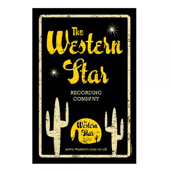 Buy Online Western Star - Retro Tin Sign - Western Star Logo