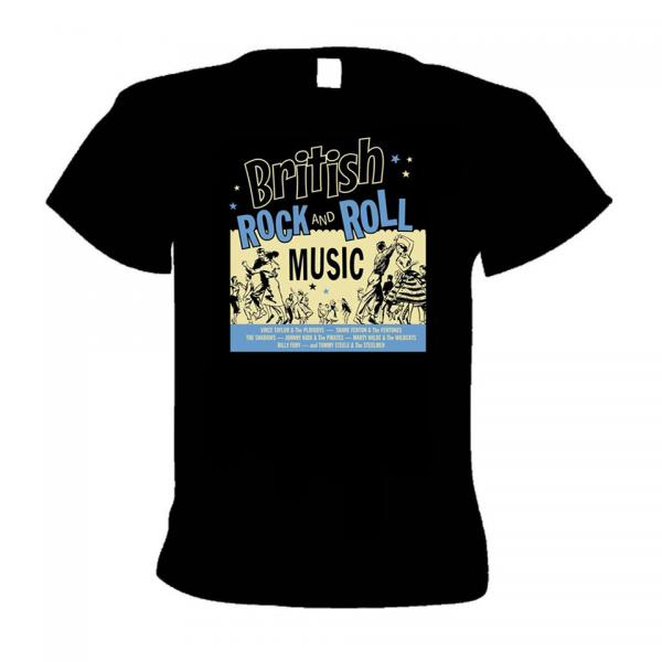 Buy Online Western Star - British Rock N Roll (Jivers) T-Shirt