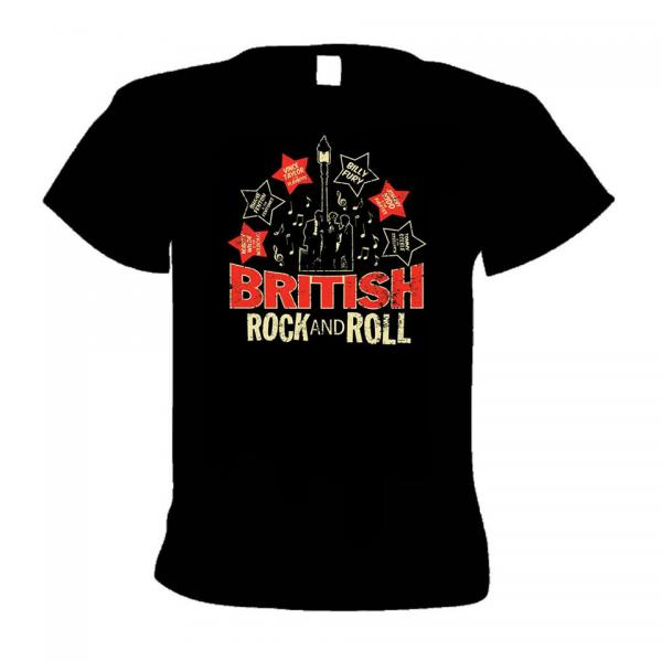 Buy Online Western Star - British Rock N Roll (Lampost Teds) T-Shirt