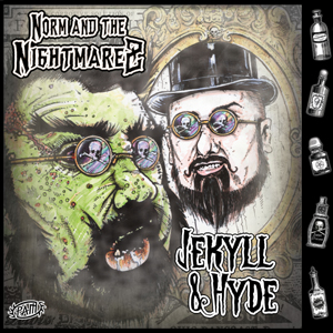 Buy Online Norm & The Nightmarez - Jekyll & Hyde Splatter Vinyl