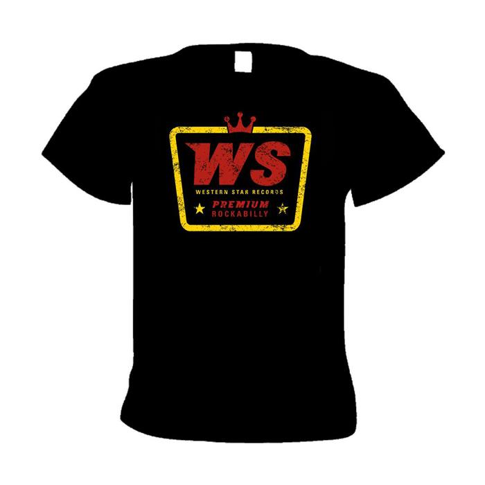 Buy Online Western Star - WS Premium Rockabilly T-Shirt