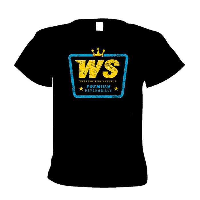 Buy Online Western Star - WS Premium Psychobilly T-Shirt