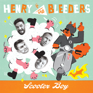 Buy Online Henry & The Bleeders - Scooter Boy Coloured