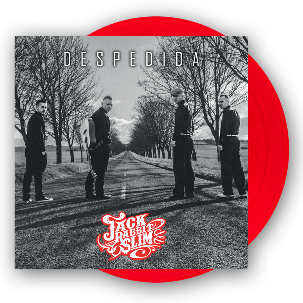 Buy Online Jack Rabbit Slim - Despedida Red 12-Inch Vinyl LP (Signed by Bob Butfoy)