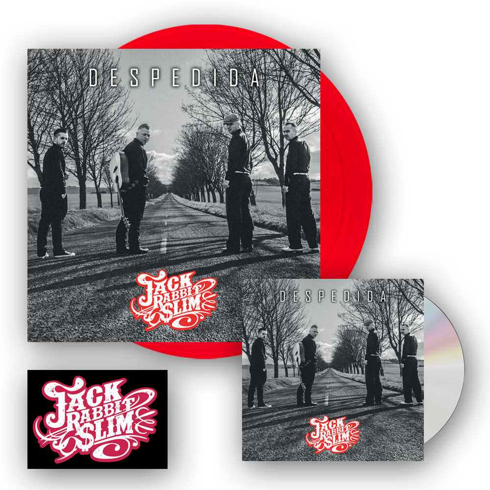 Buy Online Western Star - Despedida Digipak CD (Signed) + Red 12-Inch Vinyl (Signed) + Free Sticker