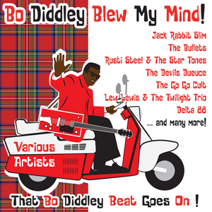 Buy Online Various Artists - Bo Diddley Blew My Mind! CD Album