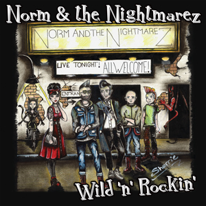 Buy Online Norm & The Nightmarez - Wild & Rockin 7-Inch Coloured
