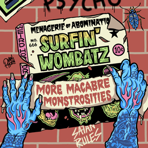 Buy Online The Surfin' Wombatz - More Macabre Monstrosities