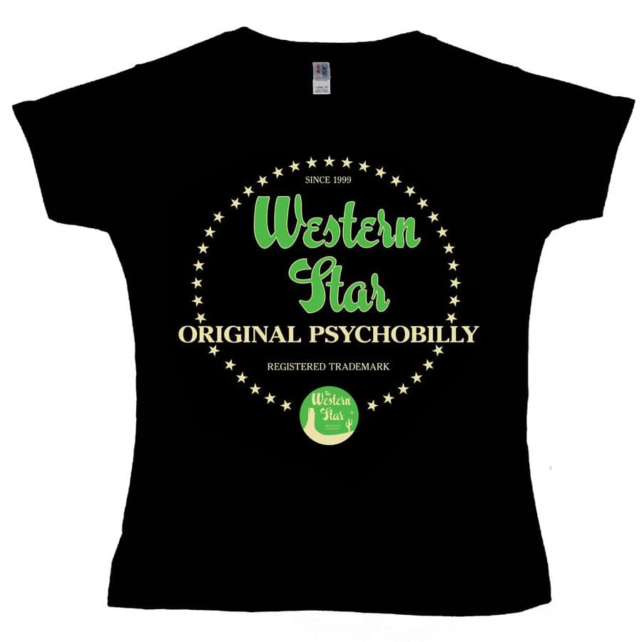 Buy Online Western Star - Western Star Original Psychobilly Ladies T-Shirt